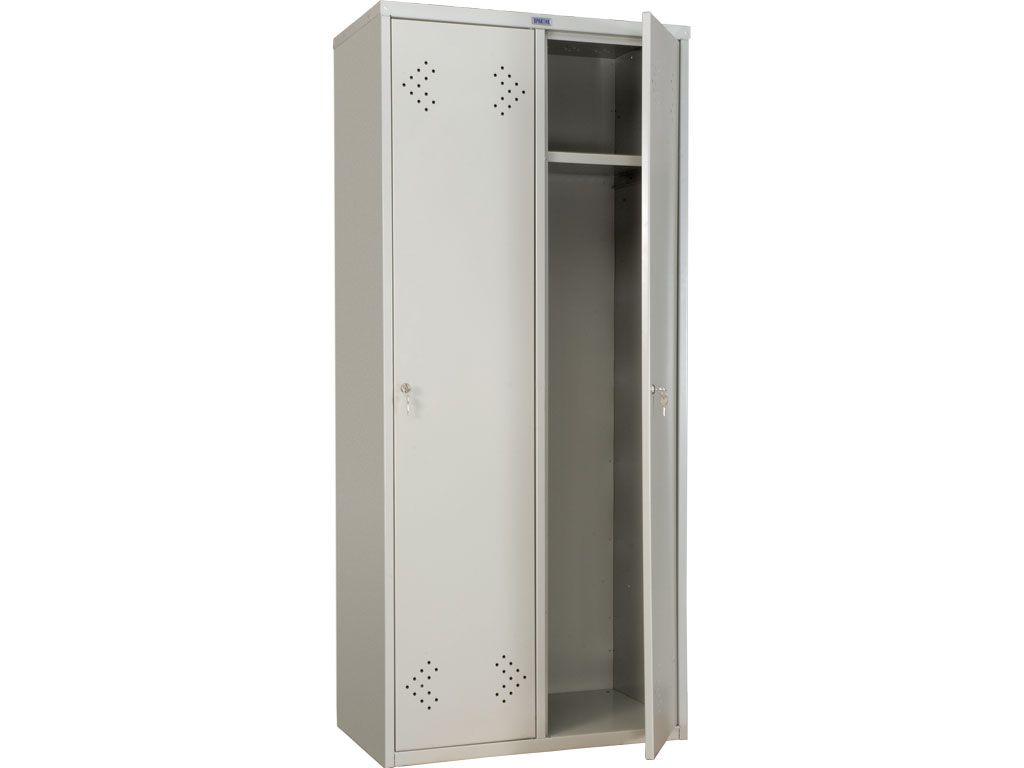 Металлический шкаф для одежды ПРАКТИК LS-21-800