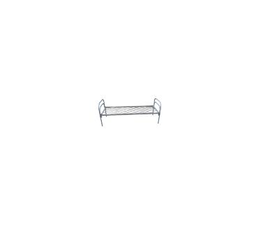 МКП-1, кровать металлическая пружинная, для строителей и рабочих на все типы объектов