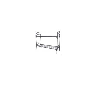МКП-2, кровать металлическая двухъярусная пружинная, кровати в бытовки и для строительных объектов