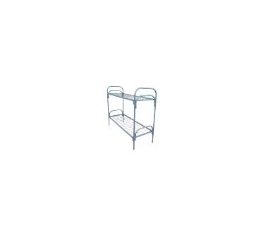 МКС-2, кровать металлическая двухъярусная, для строительных организаций, на стройки, в бытовки