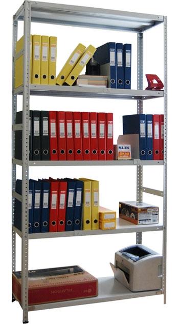 Металлический стеллаж архивный СТФ 235-2.5