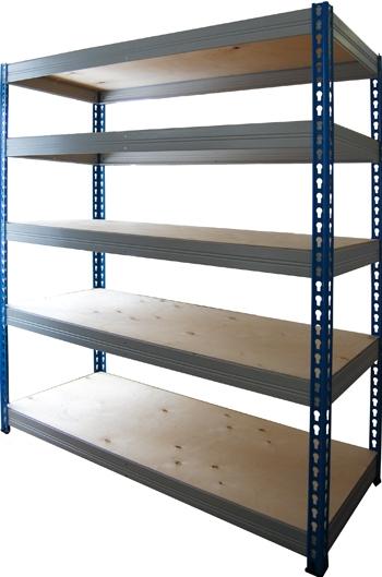 Металлический стеллаж складской МКФ 18615-2,5