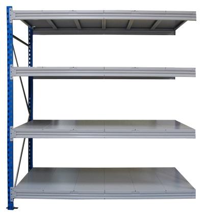 Металлический стеллаж среднегрузовой SGR 1284-2,5-DS