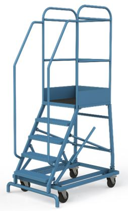 Лестница-площадка мобильная, Н-2054/1000