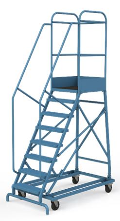 Лестница-площадка мобильная, Н-2555/1500