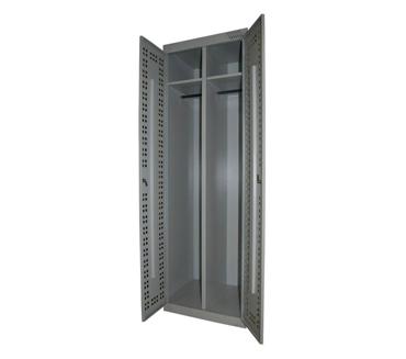 Металлический шкаф для одежды ШРК-22-800П