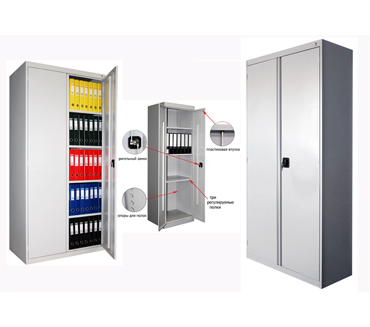 Металлический шкаф архивный ШХА-900(40)