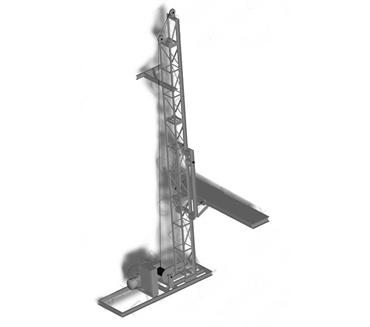 Подъемник мачтовый ПМГ-500-Б