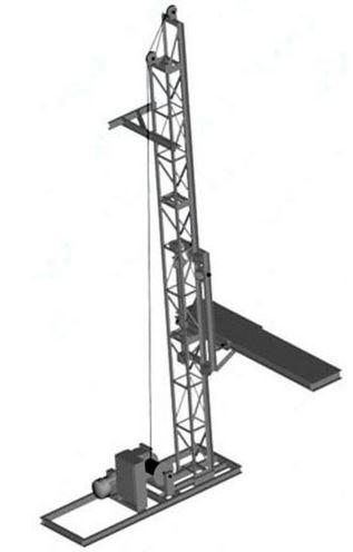 Подъемник мачтовый ПМГ-500/750