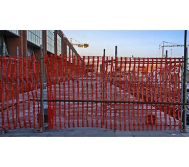 Сетки для ограждения строительных объектов