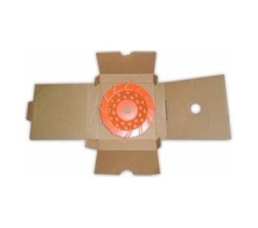 Чашка турбо D180/22,23/12 (30x6x8) GrOST для мозаично-шлифовальной машины