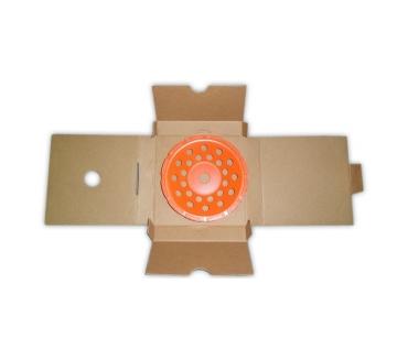 Чашка однорядная D180/22,23/12 (36x6x8,5) GrOST для мозаично-шлифовальной машины