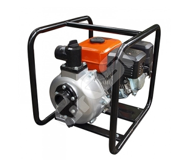 Мотопомпа бензиновая GROST-LIFAN 50ZB60-4.8QT высоконапорная (пожарная)