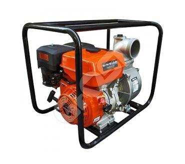 Мотопомпа бензиновая GROST-LIFAN 100ZB26-5.8Q для чистой и слабозагрязненной воды
