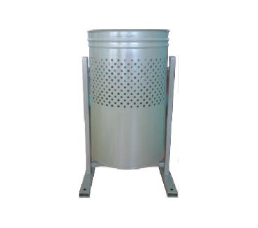 Урна круглая (перфорированная) - с полимерно-порошковой покраской для мусора