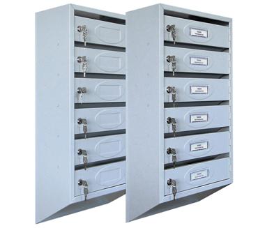 Ящики почтовые секционные