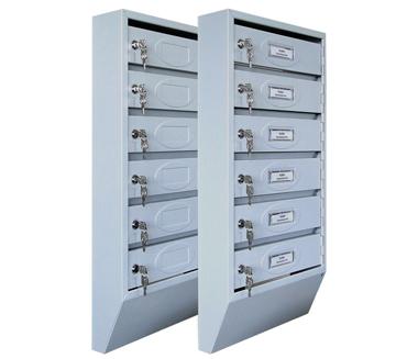 Ящики почтовые секционные узкие